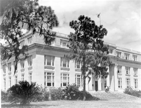 Highlands County Fl Court Records Florida Memory Exterior View Of The Highlands County Courthouse Sebring Florida