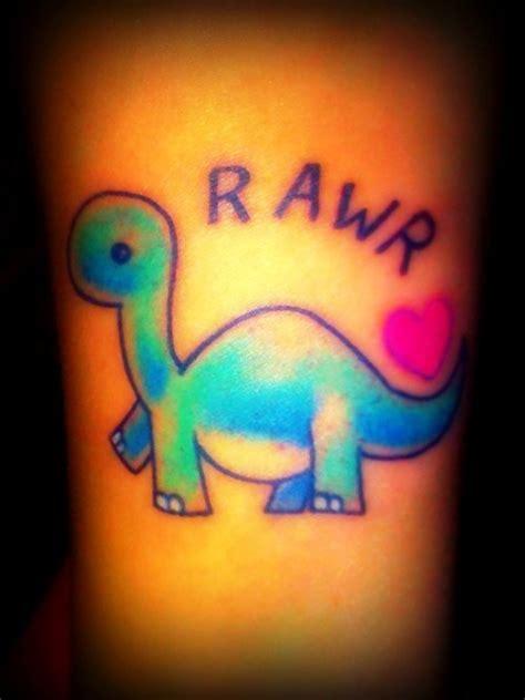 cute dinosaur tattoo designs rawr dino tattoos my