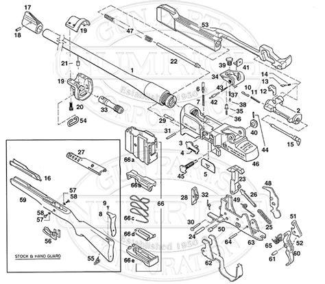 mini 14 parts diagram mini 14 accessories numrich gun parts