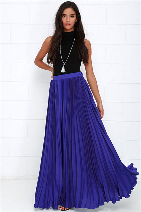 royal blue maxi skirt redskirtz