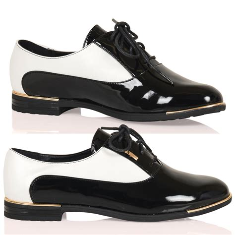 two tone oxford shoes womens kassidy womens lace up two tone high fashion oxford shoes