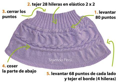como tejer capa para ninas con dos agujas capa con trenzas para ni 241 as tejiendo per 250