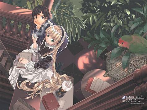 anime wallpaper r18 manga mondays gosick lady geek girl and friends