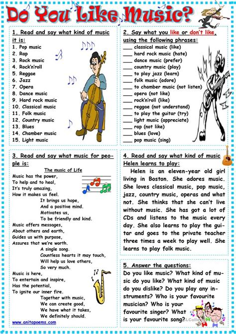 s day song esl do you like worksheet free esl printable