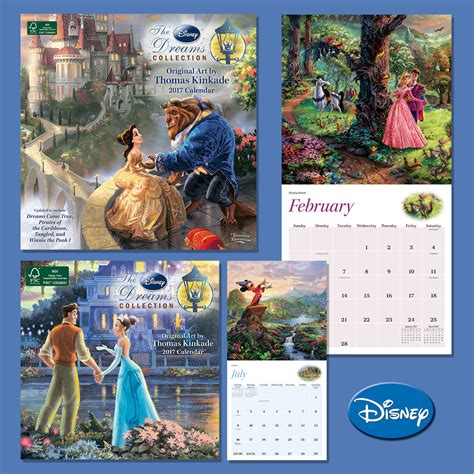 Best Selling Calendar The Best Selling Kinkade Disney Dreams Collection