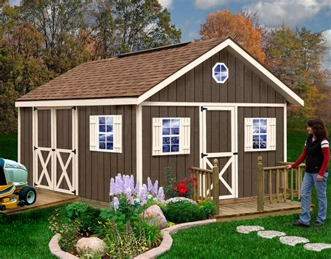 fairview diy storage shed kit wood diy shed kit