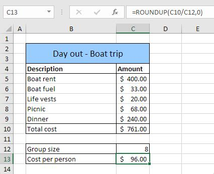 excel formula layout formula auditing in excel easy excel tutorial