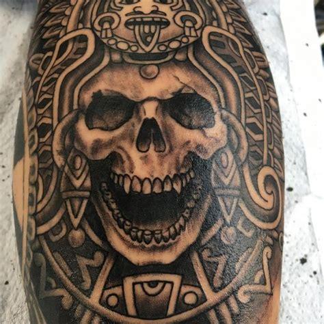 imagenes calaveras aztecas aztec tattoo www pixshark com images galleries with a