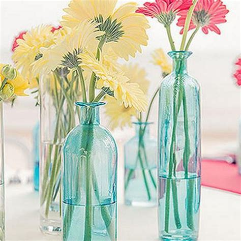 Recycle Flower Vases by Diy Decorations From Reuse Glass Bottles Recycled Things