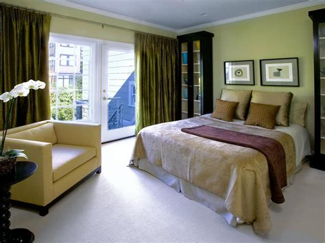 olive green bedroom photos hgtv