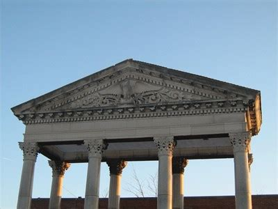 post office pediment terre haute in preserved