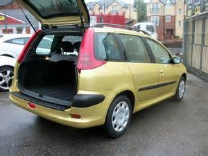 Peugeot 206 Estate For Sale Used Peugeot 206 2004 Petrol 1 4 S 5dr Estate Yellow