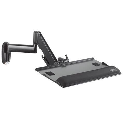 swing out keyboard tray kwk110b kwk height adjustable keyboard mouse tray wall