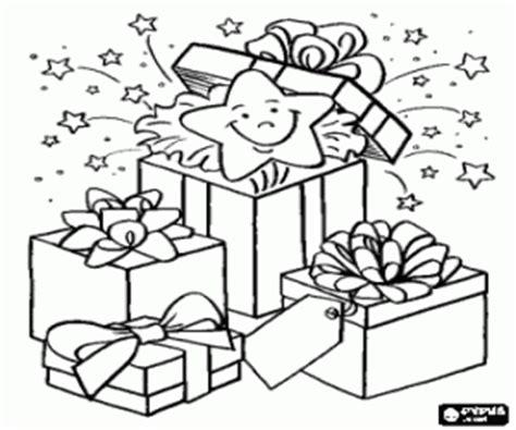 ausmalbilder weihnachtsgeschenke malvorlagen #2