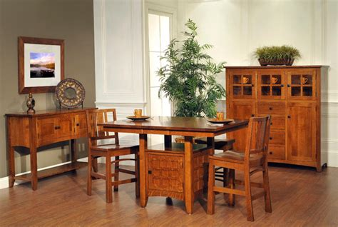 craftsman style dining room table mission furniture craftsman dining tables nashville
