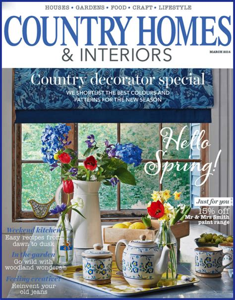 Homes And Interiors Magazine by Yay Retro Items Feature In Country Homes Interiors