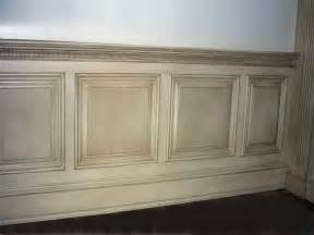 Faux Wainscot Bloombety How To Paint Wainscoting Panels With Plain How