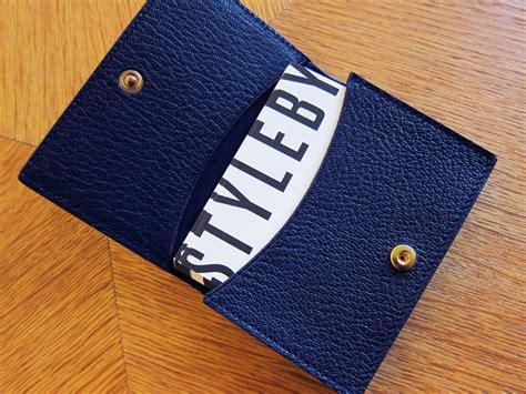 Smythson Business Card Holder