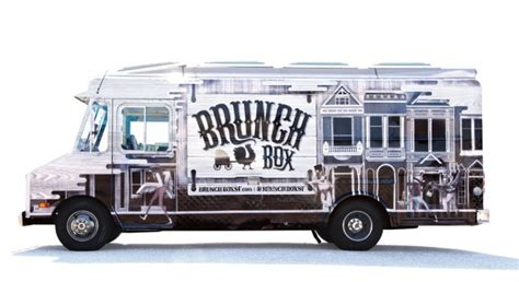 food truck brand design brunch box food truck branding grits grids