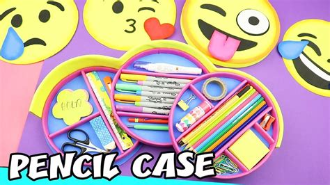 craft with drop down diy emojis pencil case drop down and interchangeable