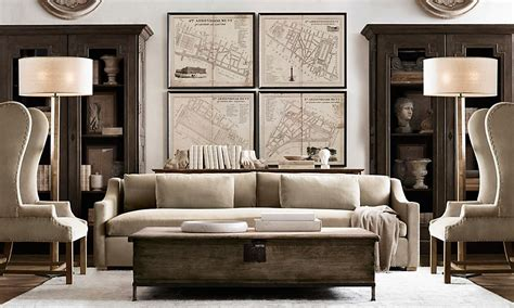 restoration hardware living room ideas amazing restoration hardware living room ideas