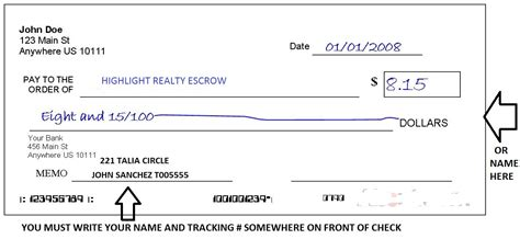what is escrow bank account image gallery escrow check