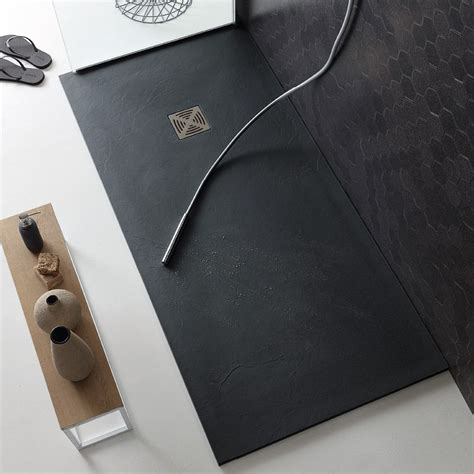 piatto doccia 70x160 flat piatto doccia spessore 2 5 in marmo resina cm 70x160