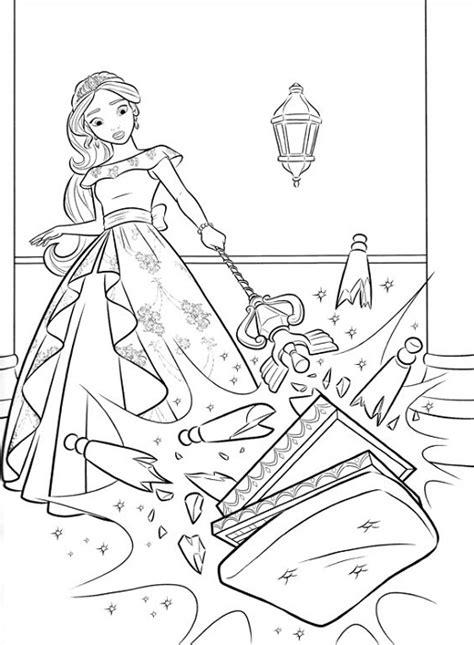 Coloriage Elena D Avalor Princesse Disney Princesse Jasmine Coloriage L