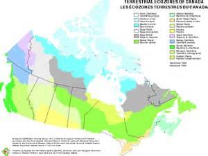 ecozones ecoregions and ecodistricts