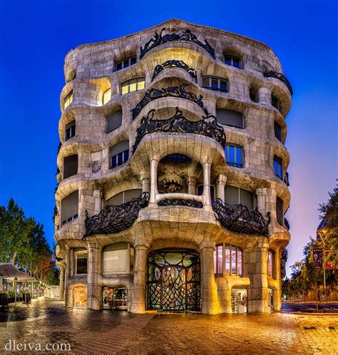 barcelona gaudi la pedrera casa mila barcelona spain 1905 10 antoni