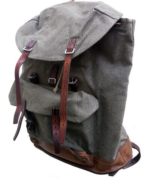 rucksack backpack schweizer armee rucksack aus den 60ern schweiz vintage