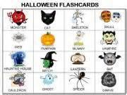 english smartboard lessons halloween flashcards