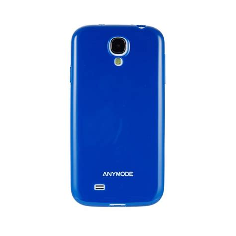 Anymode Samsung S4 anymode anymode coque jelly bleue pour samsung galaxy