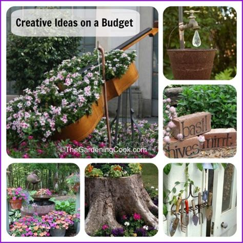 creative gardening ideas creative gardening ideas no need to spend a fortune on these