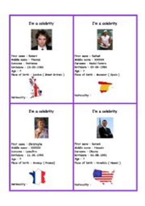 celebrity activity meaning english worksheets speaking cards worksheets page 35