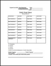 Behavior Plan Template For Elementary Students by Behavior Sheets New Calendar Template Site