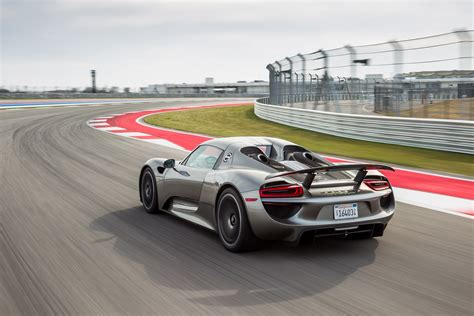 porsche supercar 918 2015 porsche 918 spyder review automobile magazine