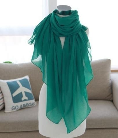 Tas Import Fashion Korea Vsb54 Green scarves korea import jy58250 green tamochi