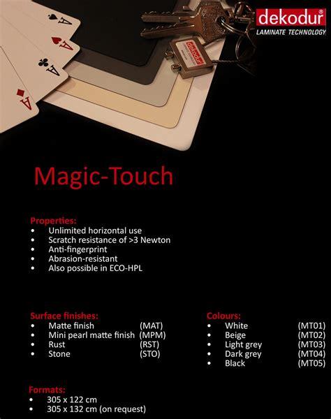 magic touch magic touch dekodur laminate technology laminates hpl