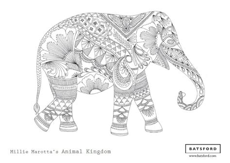 zen coloring pages elephant free zentangle elephant coloring pages