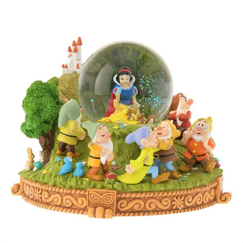 snow white snow globe shop collectibles online daily