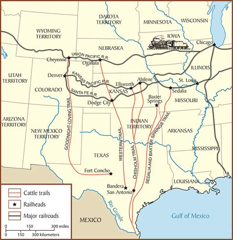 texas cattle trails map cattle drive map www pixshark images galleries with a bite