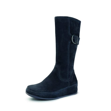 suede boots fitflop hooper blue suede boots mozimo