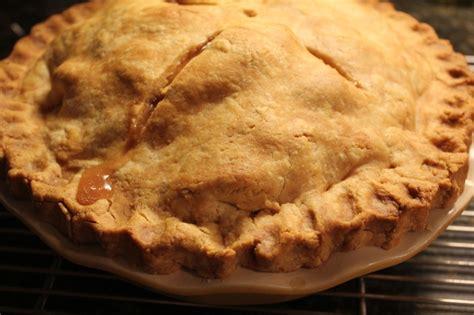 gluten free double butterscotch apple pie recipe dishmaps