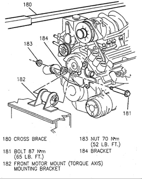 Service Manual Removing A Water Pump 1998 Oldsmobile