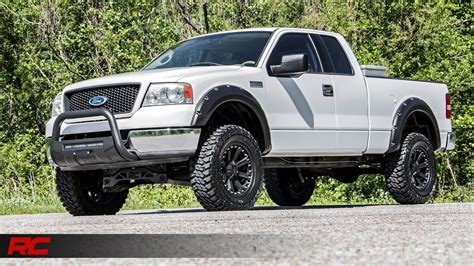 2008 ford f150 fender flares 2004 2008 ford f 150 riveted fender flares by