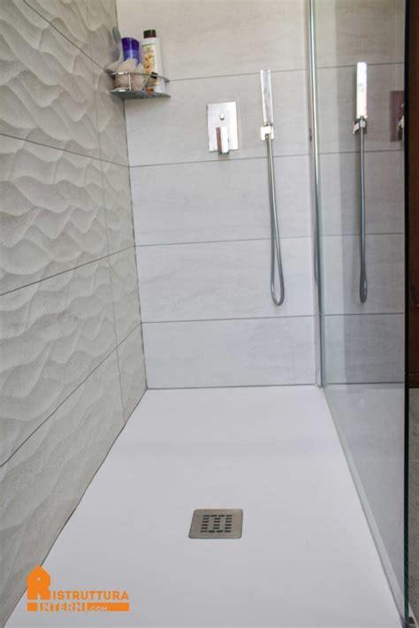 resina doccia piatto doccia ristruttura interni