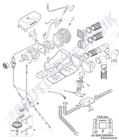 espar d2 heater wiring diagram wiring diagram with