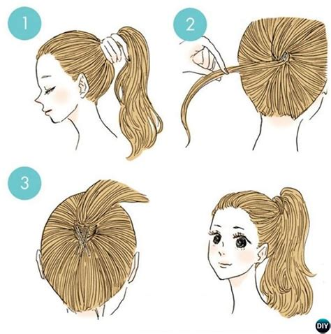 hair style for morning 3 minute easy busy morning hairstyles