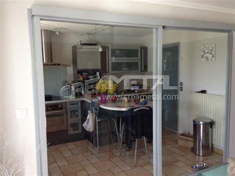 Merveilleux Separation Vitree Entre Cuisine Et Salon #1: baie-vitree-separation-cuisine-salon.jpg